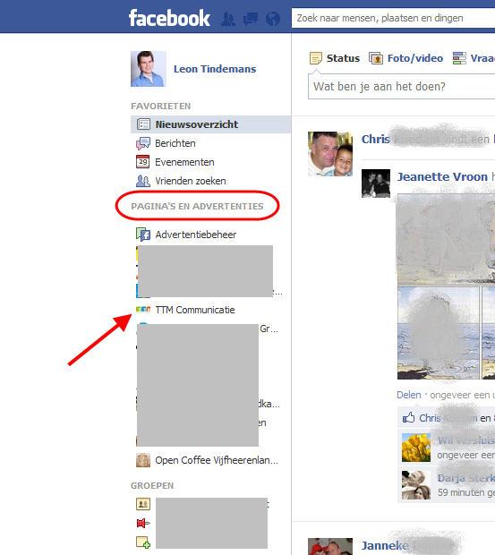 Pagina's en advertenties - Facebook Kennisbank