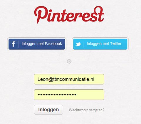 Verdachte activiteit op je Pinterest account? - TTM